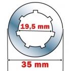 ROTITA 6200 MOTRICA AMBREIAJ3/8 - 7 PENTRU STIHL / CHINA 6200