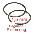 SEGMENTI piston 2 TIMPI INTRE Ø 32X1,5 MM < > Ø 60X1,5MM - DIFERITE DIMENSIUNI